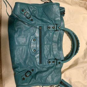 Balenciaga cerulean classic city bag